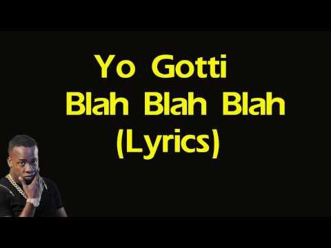 Yo Gotti  Blah Blah Blah Lyrics