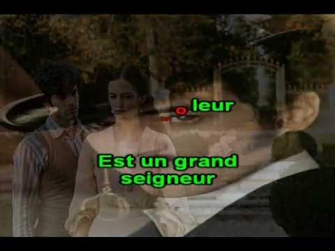 Karaoké - Jacques Dutronc - Gentleman Cambrioleur.avi