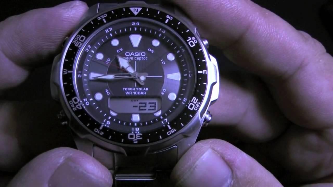 casio watch atomic tough solar wave ceptor wva 320j 4319 video rh youtube com casio wave ceptor 5052 manual casio wave ceptor 5052 manual