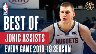 Nikola Jokic's Best Assist From Every Game Of The 2018-19 Season