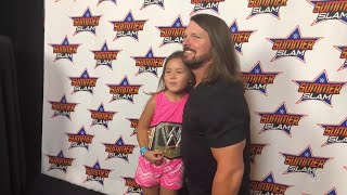 AJ Styles makes every young fan feel special during his SummerSlam Meet & Greet: SummerSlam Diary