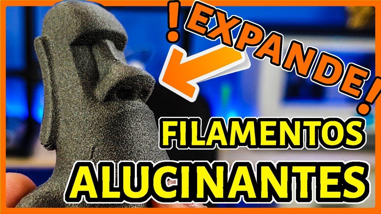 ¡FILAMENTOS 3D que BRILLAN, EXPANDEN y CUECEN! [REVISIÓN VIP BOX]