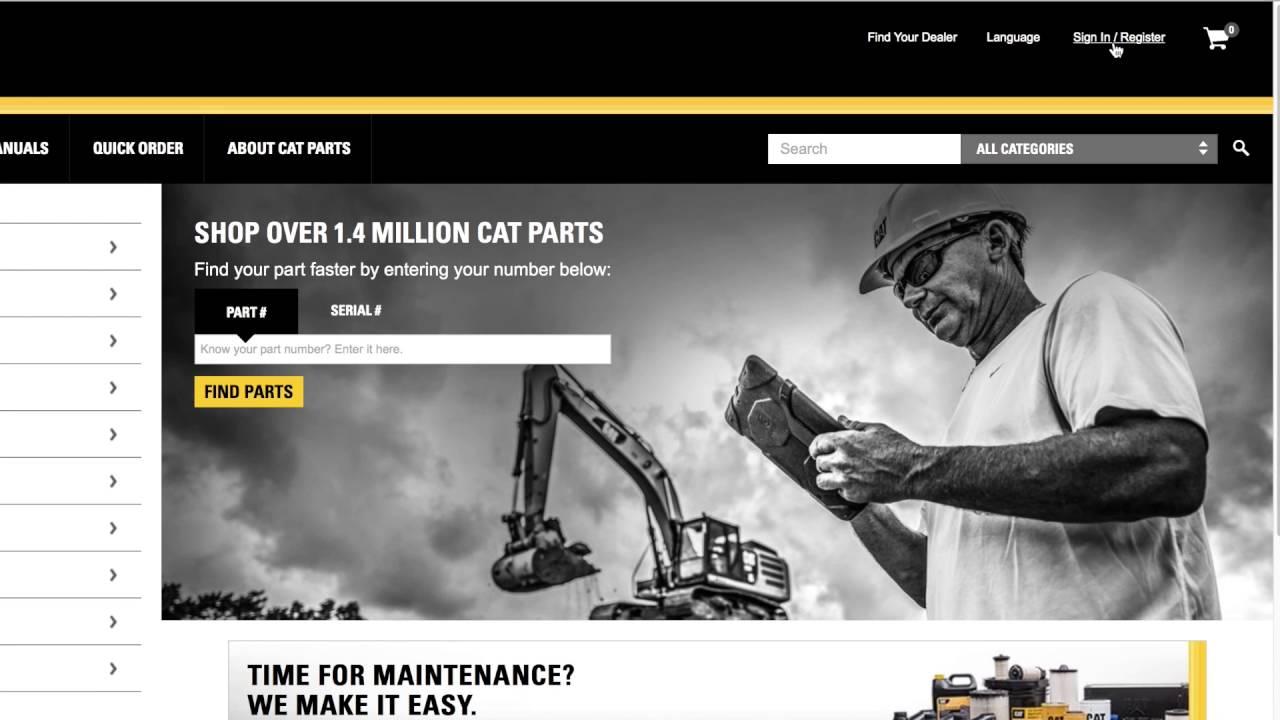 Buy Caterpillar Parts Online from Mustang Cat PartStore