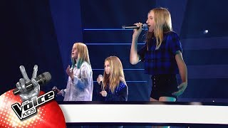 Lindsy, Josephine & Louise - 'Dream On' | The Battles | The Voice Kids | VTM