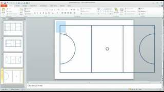 Step 2 in Using PowerPoint to draw a