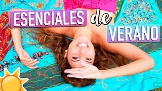 MIS ESENCIALES DE VERANO 2017: peinado, snacks, uñas e infaltables!! | Valeria Basurco