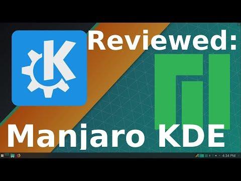 Review - Manjaro KDE