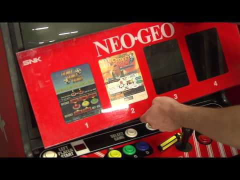 Classic Game Room - NEO-GEO MINI MARQUEES review