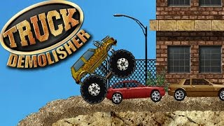 Monster Truck Demolisher - Crazy Monster Truck