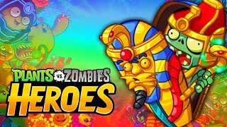 Undying Pharaoh! Plants Vs. Zombies Heroes - Gameplay Playthrough (iOS, Android) | Part #42