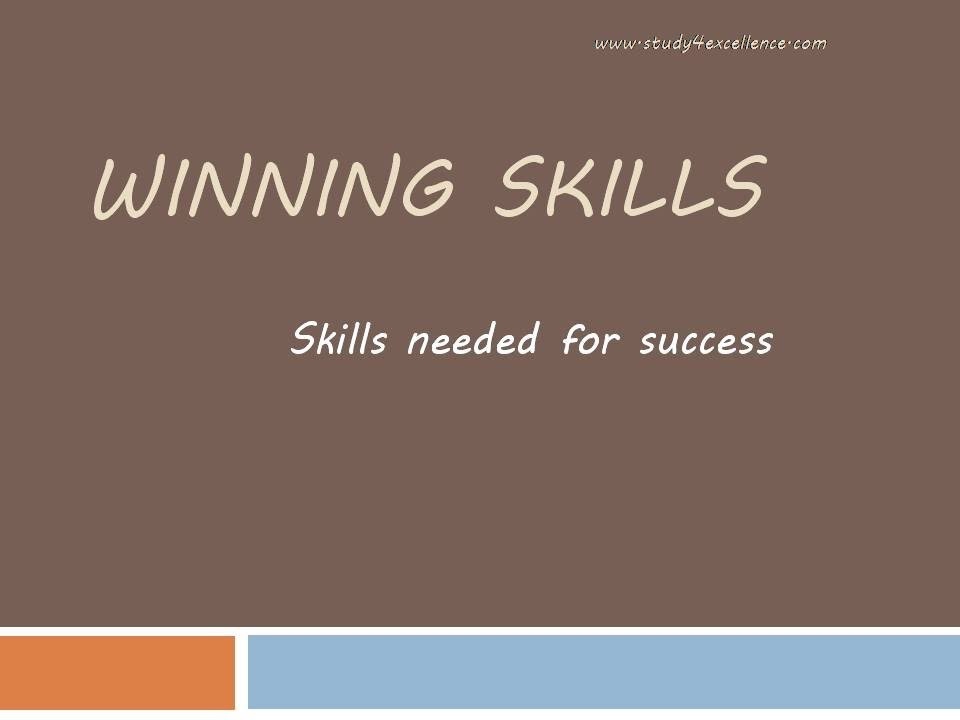 skill needed to be successful at Life skills contain 'life' because we need to understand the root of its impact on the significant others collaboration with diverse people needs an understanding of a these are the five life skills required to become successful in life ,you should concentrate on to be a rock star in your professional life.
