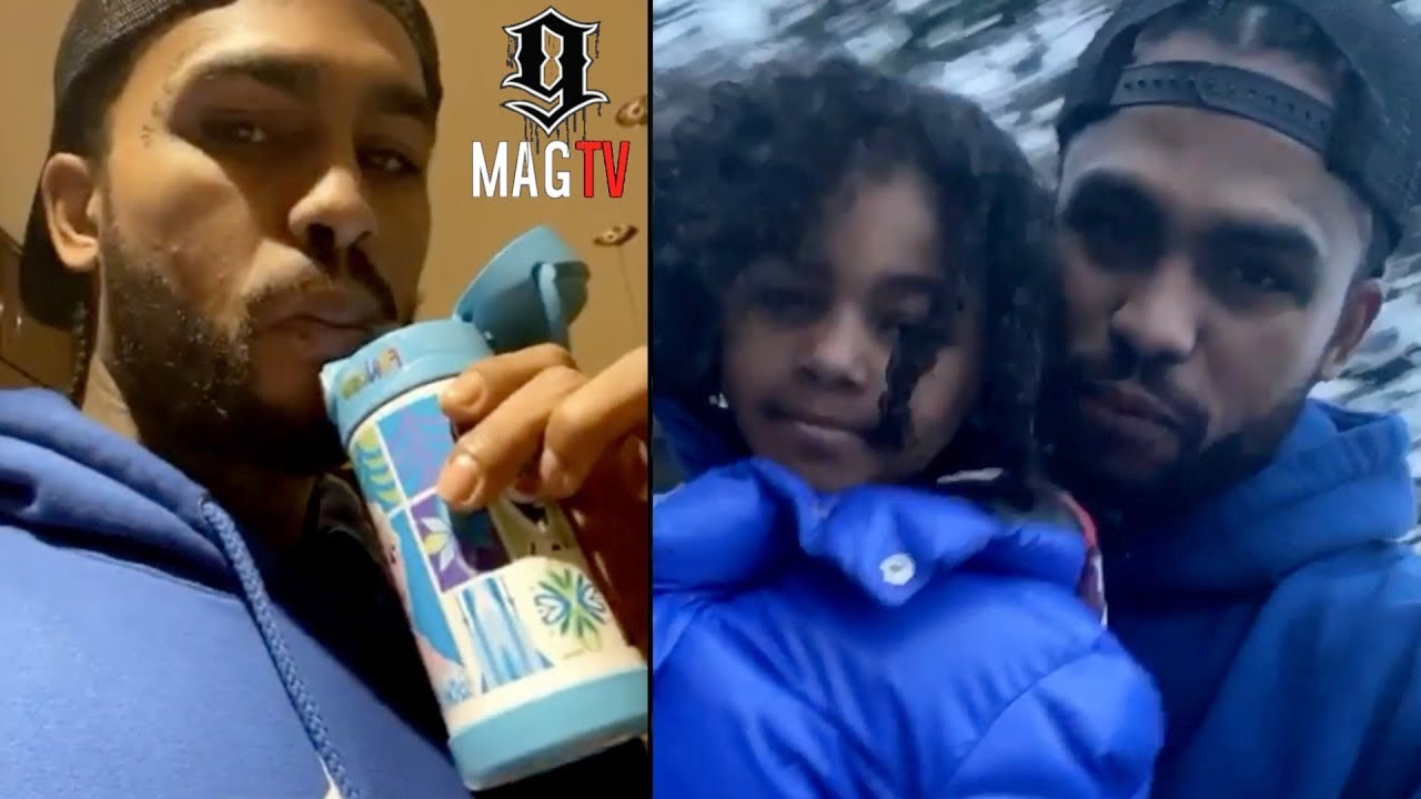 Dave East Struggles With Daughter Kairi During Daddy Duty!