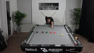 Pool & Billiards Drill #12: Controlled Follow!
