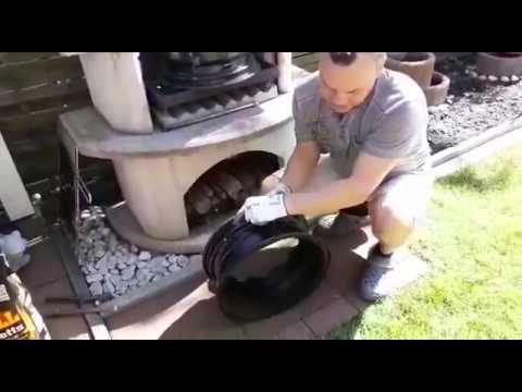 Универсальная печка для казана (мангал)