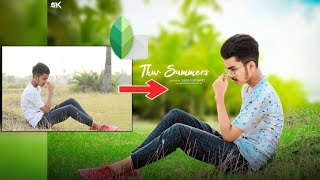 AMAZING SNAPSEED PHOTO EDITING || SNAPSEED BEST COLOUR EFFECT EDITING || 2018 - ALFAZ EDITING