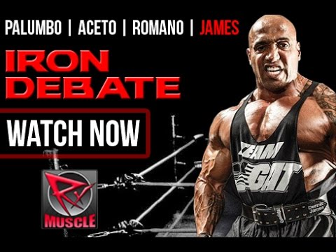 Iron Debate -Dennis James / Aceto / Palumbo / Romano - 10/8/15