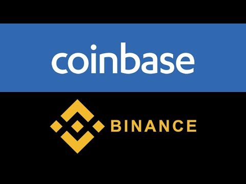 how to transfer from binance to coinbase