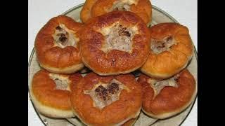 Вкусные домашние беляши с мясом на сковороде)