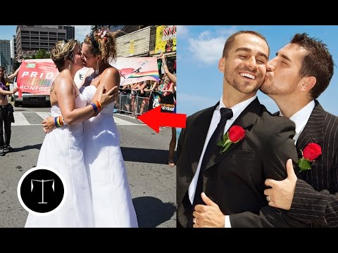 10 Countries Where Gay Marriage is fully Legal!!
