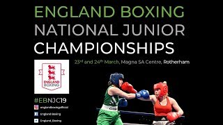 England Boxing National Junior Champs 2019 - Day 1 Ring B