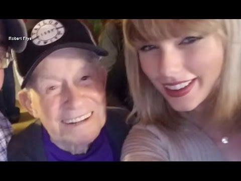 Taylor Swift Surprises Oldest Fan