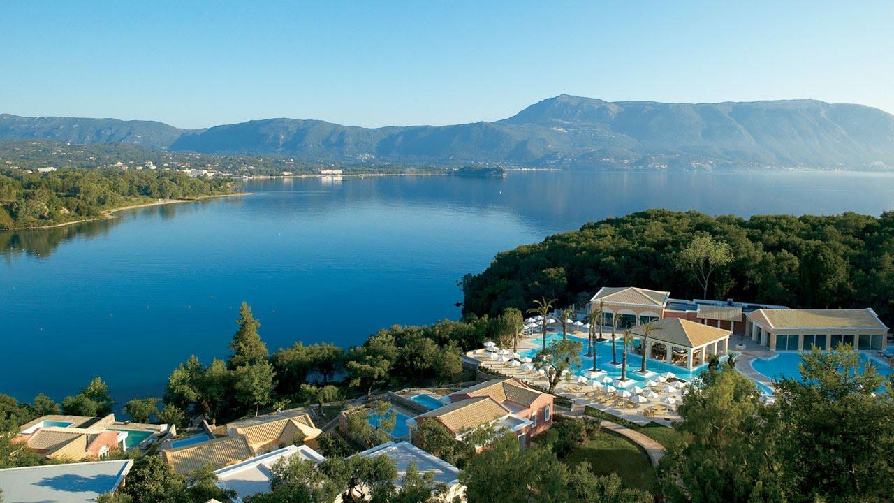 Luxury Hotel in Corfu, Greece | Grecotel Eva Palace - YouTube