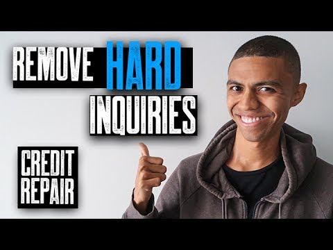 how to remove inquiries from credit report sample letter inquiries removed from credit report credit repair 22347 | hqdefault