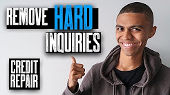 Hard Inquiries Removed From Credit Report || Credit Repair || Hard Inquiries Ins and Outs