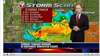 Springfield, MA police scanner during tornado on 6/1/11 Pt 1