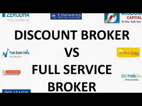 (Hindi) Discount brokers vs Full service brokers/Best stock brokers in India