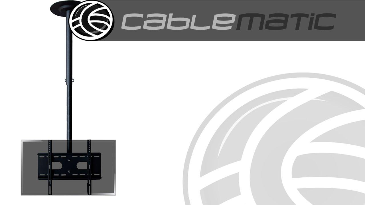 Soporte de techo para pantalla de tv de 660x400mm mod - Tulipas para ventiladores de techo ...