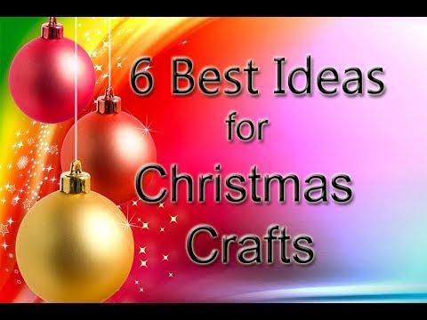 6 great ideas for Christmas||Easy Christmas paper crafts||Christmas Decoration ideas||diy xmas ideas