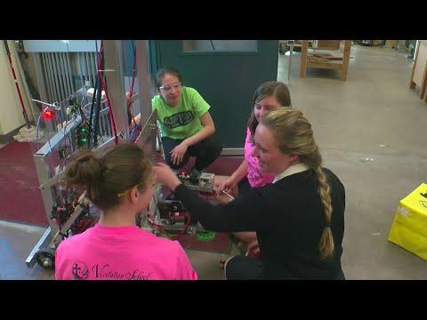 All-Girls Robotics Team Heads To World Championships