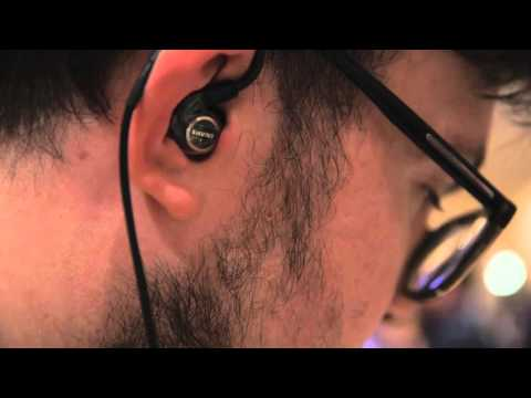 Shure's $3000 electrostatic earbuds — CES 2016