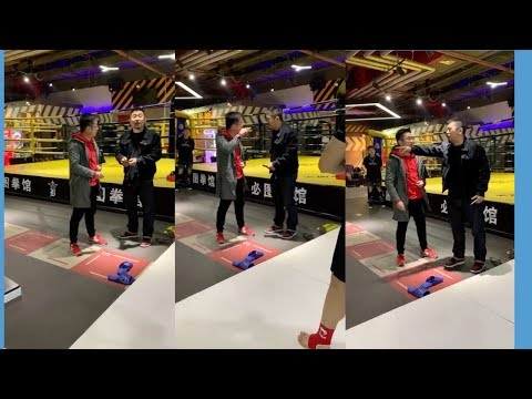 Kung Fu Guy Challenges Xu Xiaodong At His Gym - Exclusive Footage