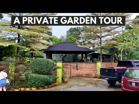 A PRIVATE GARDEN TOUR in SARAWAK, MALAYSIA 🇲🇾