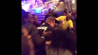 New Years Fight at Baltimore Horseshoe