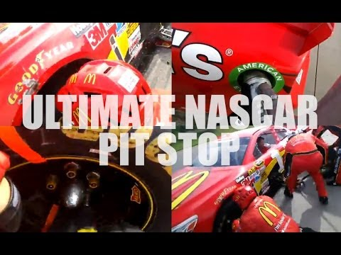 Ultimate NASCAR Pit Stop POV   Google Glass