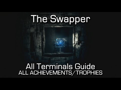 The Swapper - ALL TERMINALS - Achievements/Trophies Guide (I, II, III, IV, V, VI, VII, VIII, IX, X)