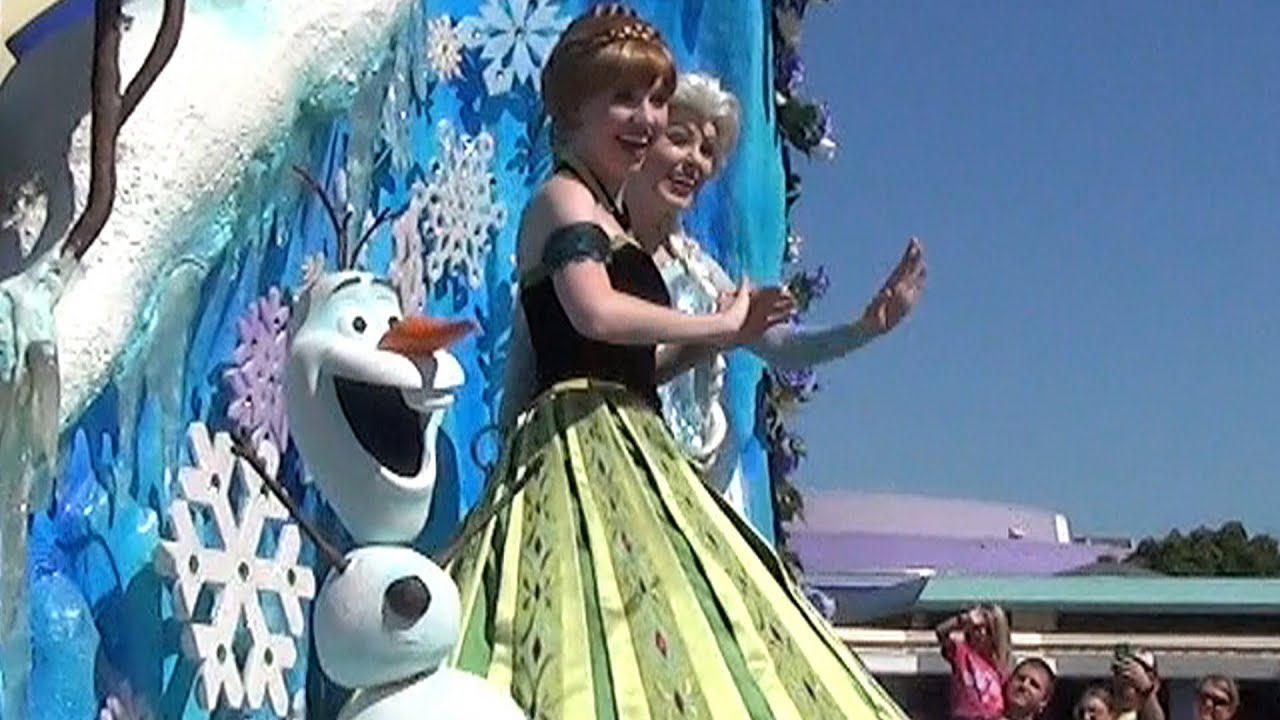 Mousesteps Weekly 92 Anna Elsa Moving To Magic Kingdom Festival