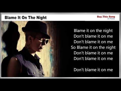 Blame It On The Night Lyrics - Calvin Harris