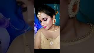Engagement Look Transformation | Shorts | Snehal #desibride #makeup