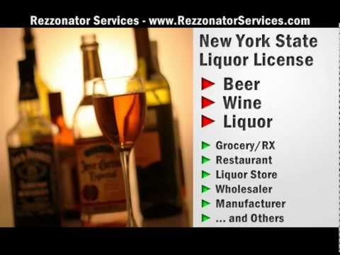 New York Liquor License Specialist  - Get It FAST & Easy - Rezzonator Services