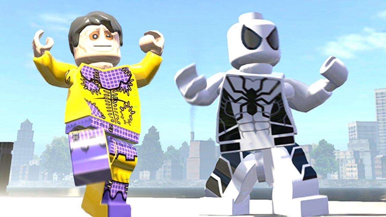 Lego White Spiderman Vs Toad - LEGO MARVEL Super Heroes ...