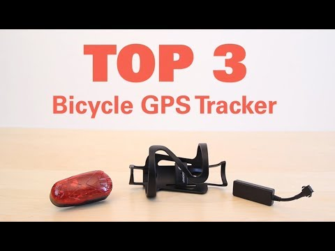 TOP 3 GPS Tracker Bicycle Review. Anti Theft!