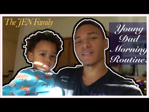 YOUNG DAD MORNING ROUTINE | *A DAY IN THE LIFE*