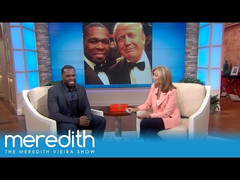 What Does 50 Cent Think Of Donald Trump? | The Meredith Vieira Show