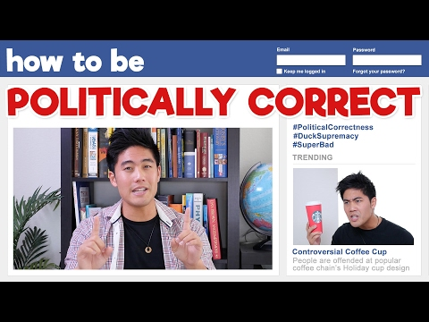 Thumbnail: How to be Politically Correct!