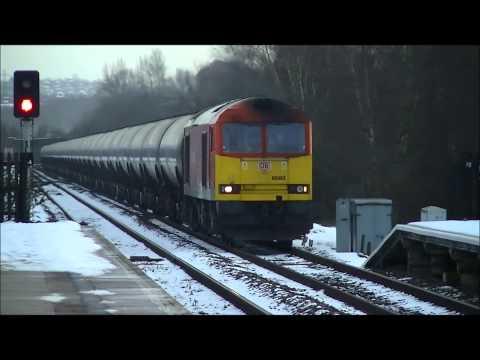 DB Schenker Class 60063 6E54 - Music for Swinton 26/01/13