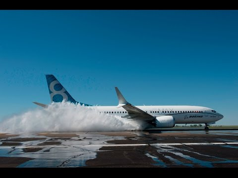 Boeing's 737 MAX Makes a Splash